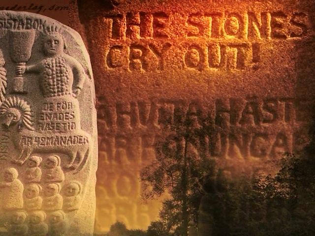 De stenen roepen!