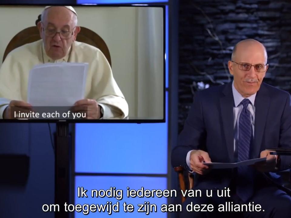 Oproep paus om wereldwijde pact